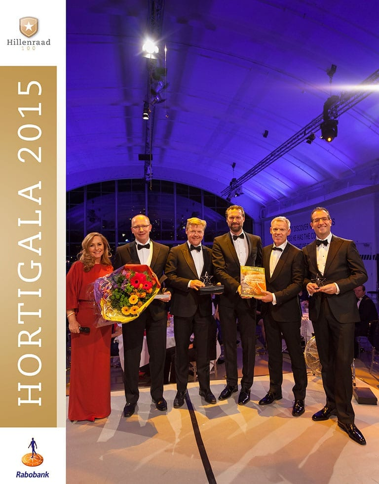 HortiGala 2015 in de Holland America Vertrekhal ter Rotterdam