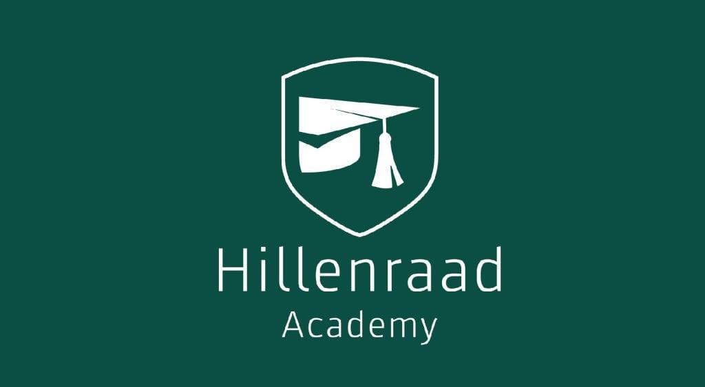 Hillenraad Academy - Website schild gallery