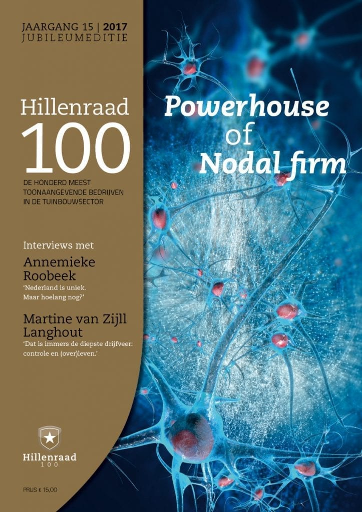 Hillenraad Partners - Management Consulting in Horti Business 2017 Hillenraad100_cover_2017 - NL