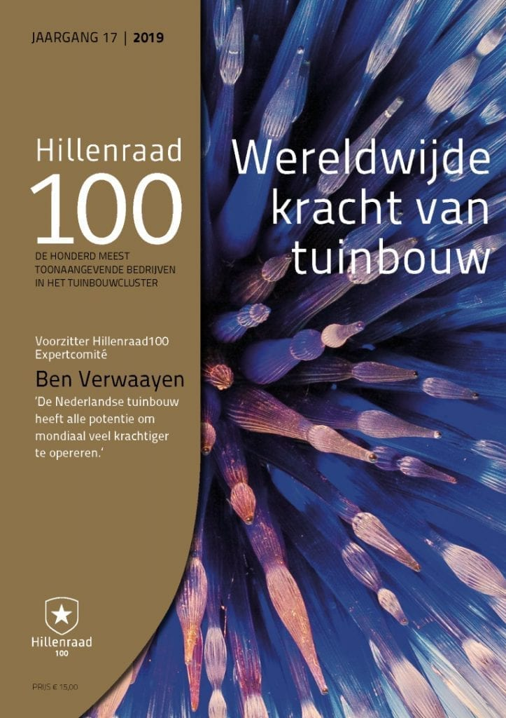 Hillenraad Partners - Management Consulting in Horti Business 21019 Hillenraad100_cover_2019 - NL (Middel)